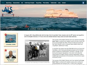 A Long Swim Website
