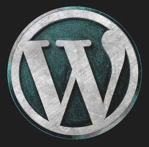 metal wordpress icon
